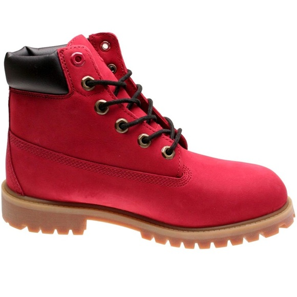 Expression Fisherman click  Timberland Shoes | Boots Rare Red Limited Edition Nwt | Poshmark
